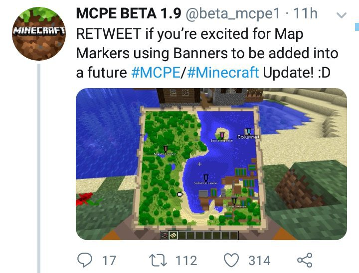 Coordinates May Not Be on Maps Sometime For Minecraft Bedrock