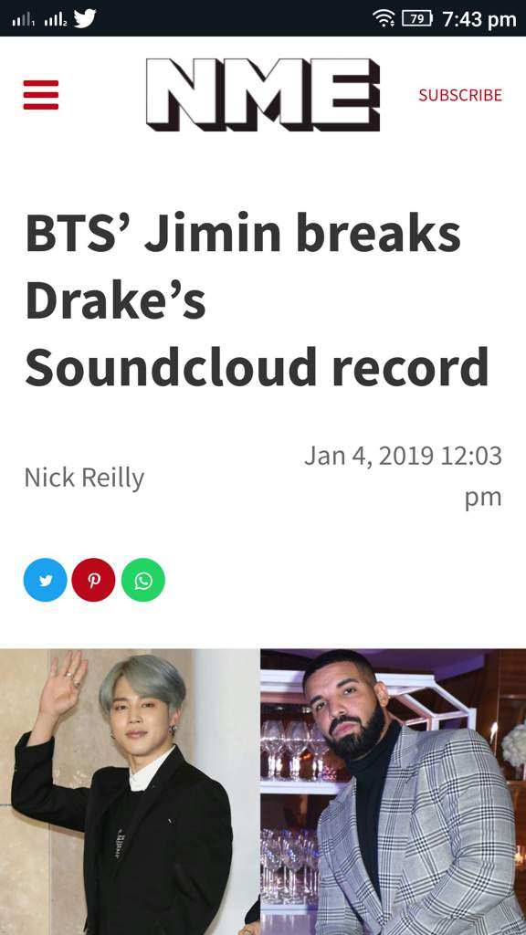 BTS' Jimin breaks Drake's Soundcloud record | ARMY INDIA Amino