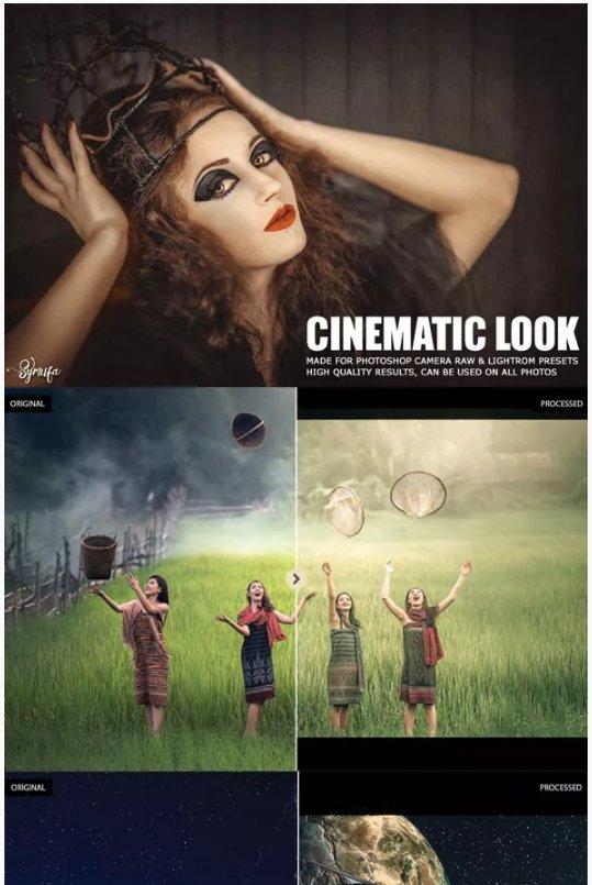 Cinematic Film Look Lightroom Preset Photography Edition Amino