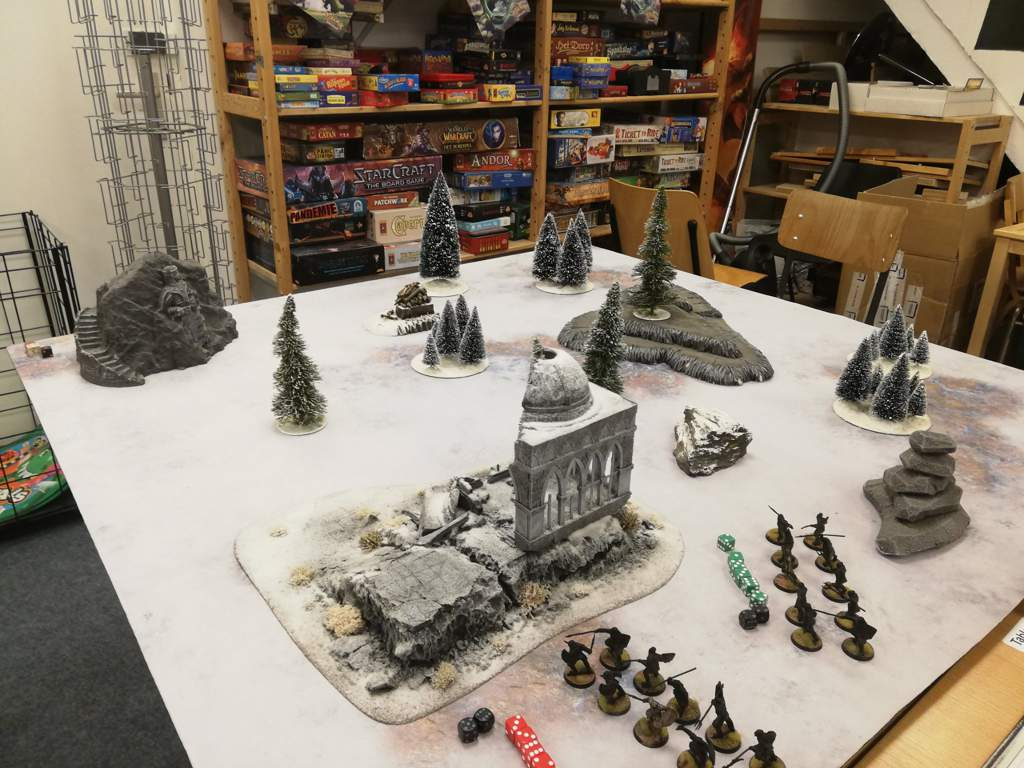 Middle Earth Snow Table Warhammer 40k Amino