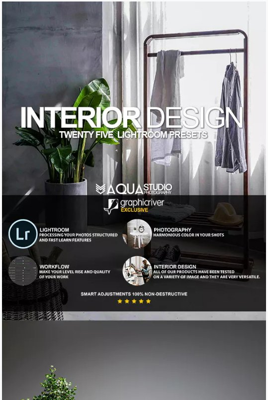 Interior Design Lightroom presets download free  zip for