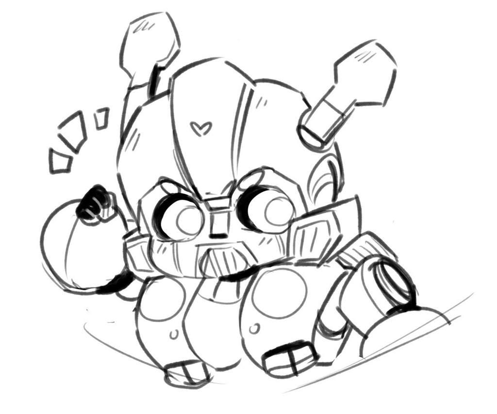 Dibujo Bumblebee Chibi Transformers Amino En Español Amino