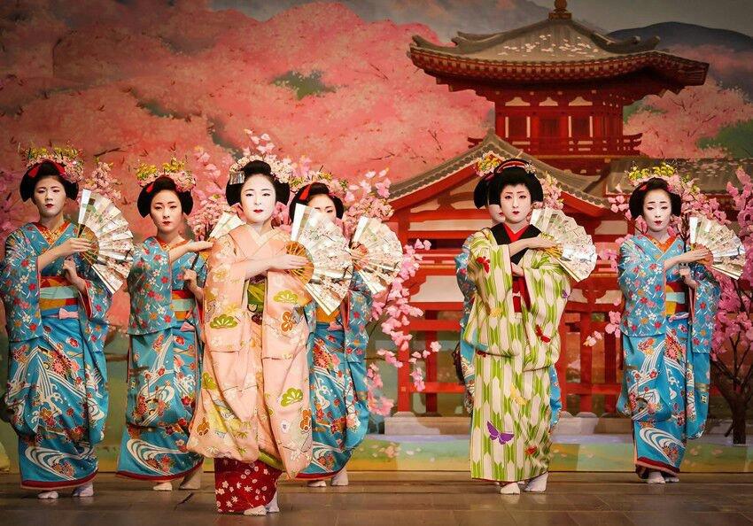 больше японский танец в картинках картинки