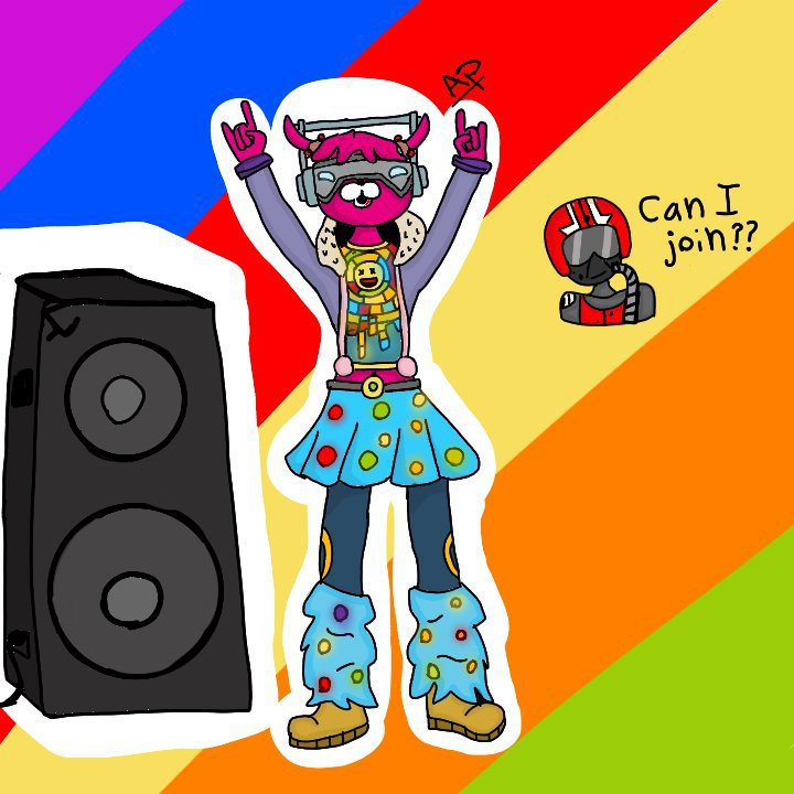 fortnite battle royale armory - fortnite dj bop art