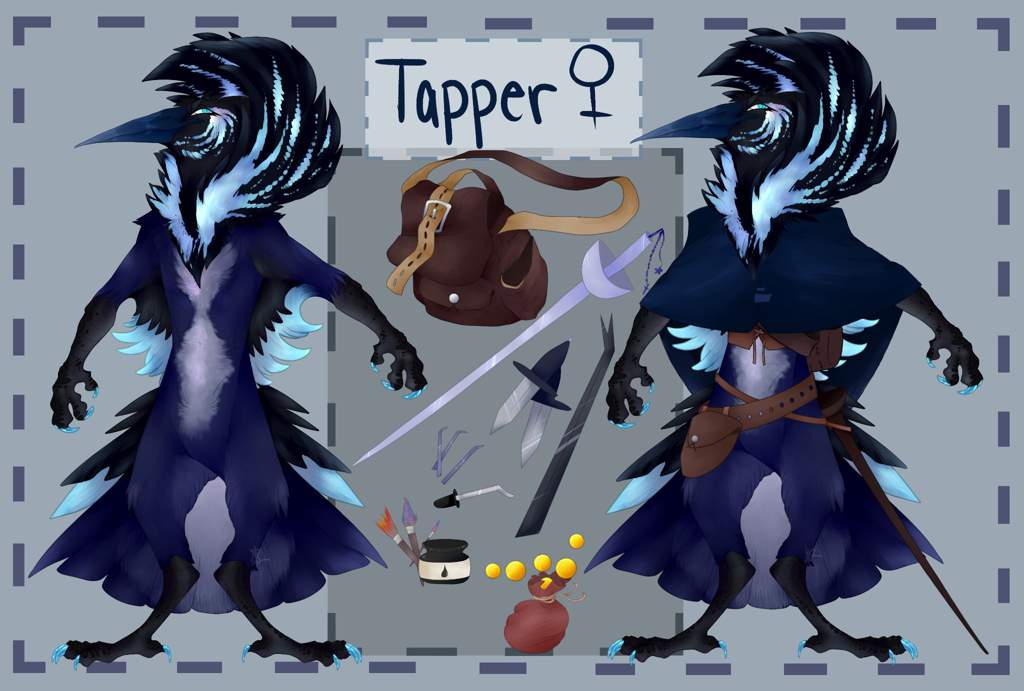 Tapper the Kenku | Dungeons & Dragons (D&D) Amino
