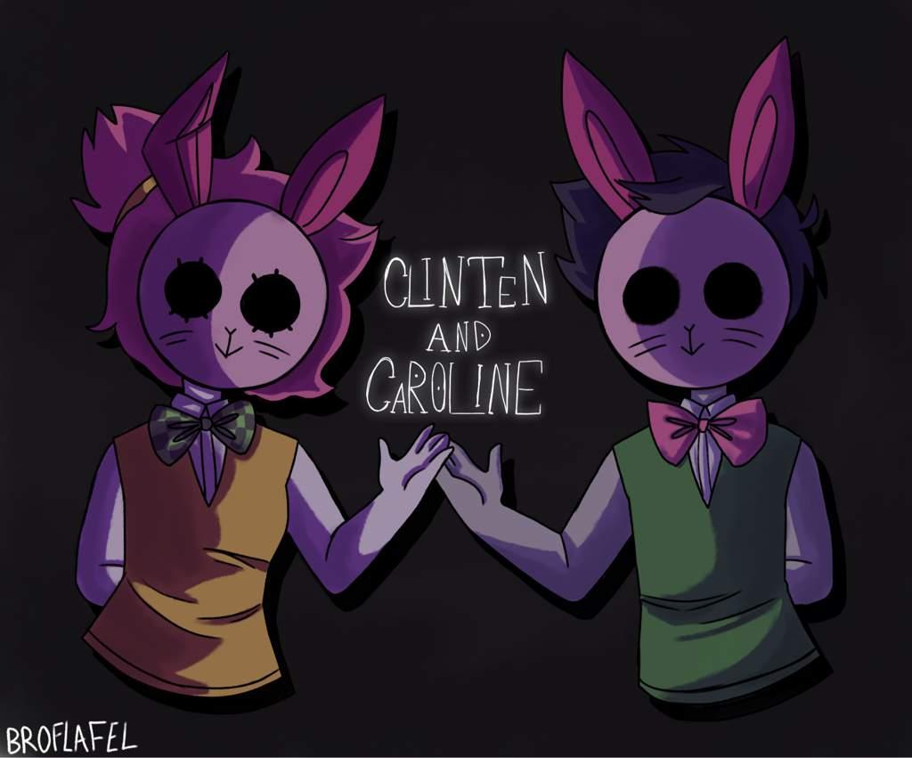 Cllnten And Carollne Roblox Amino - roblox creepypasta myths