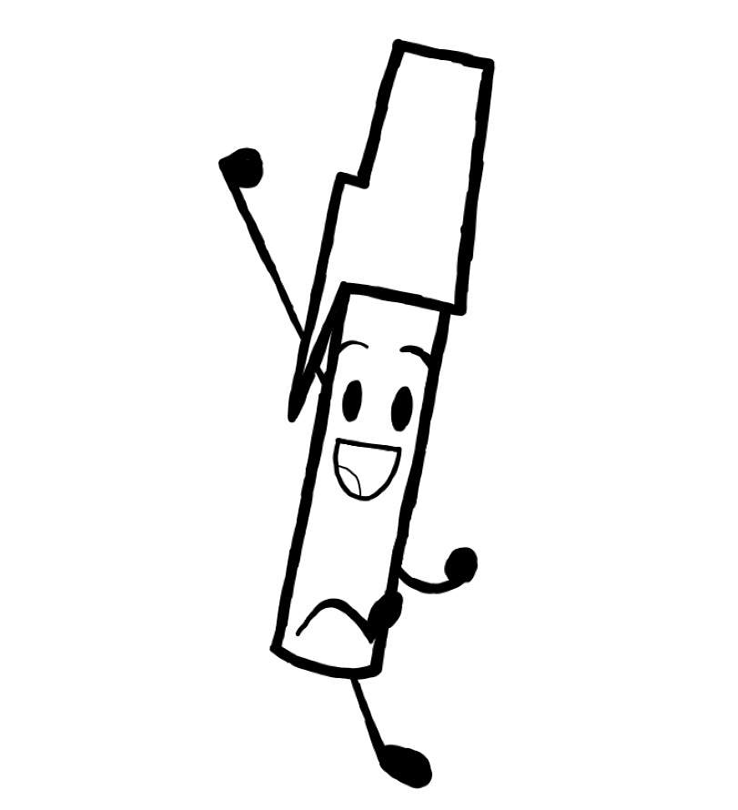 Bfdi Coloring Page Object Shows Amino