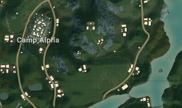 منطقة Camp Alpha