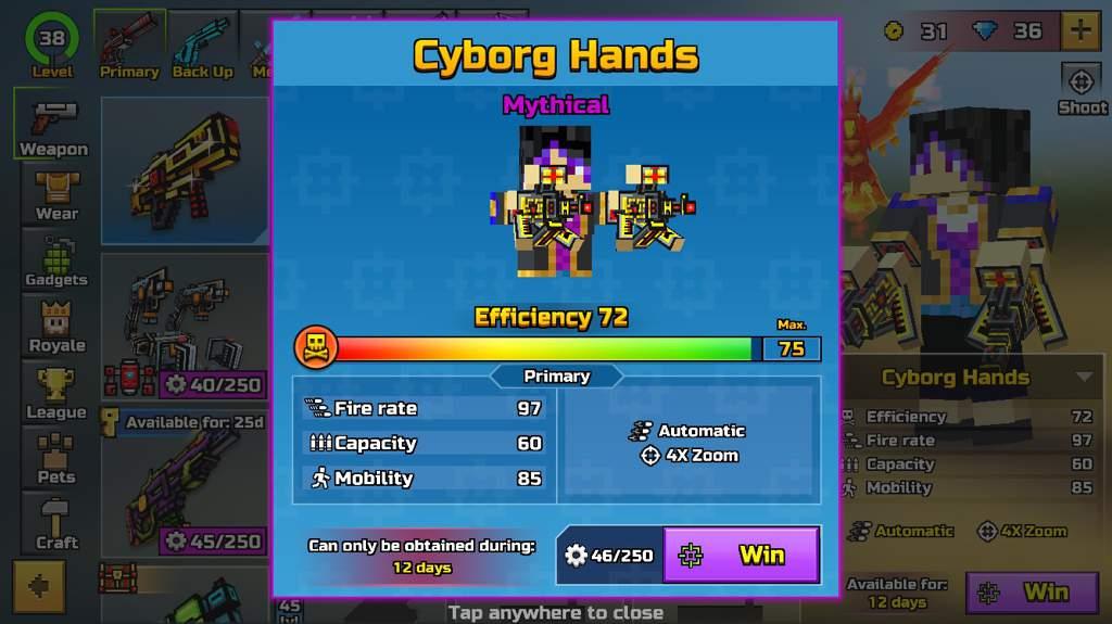 Broken Weapons w/descriptions