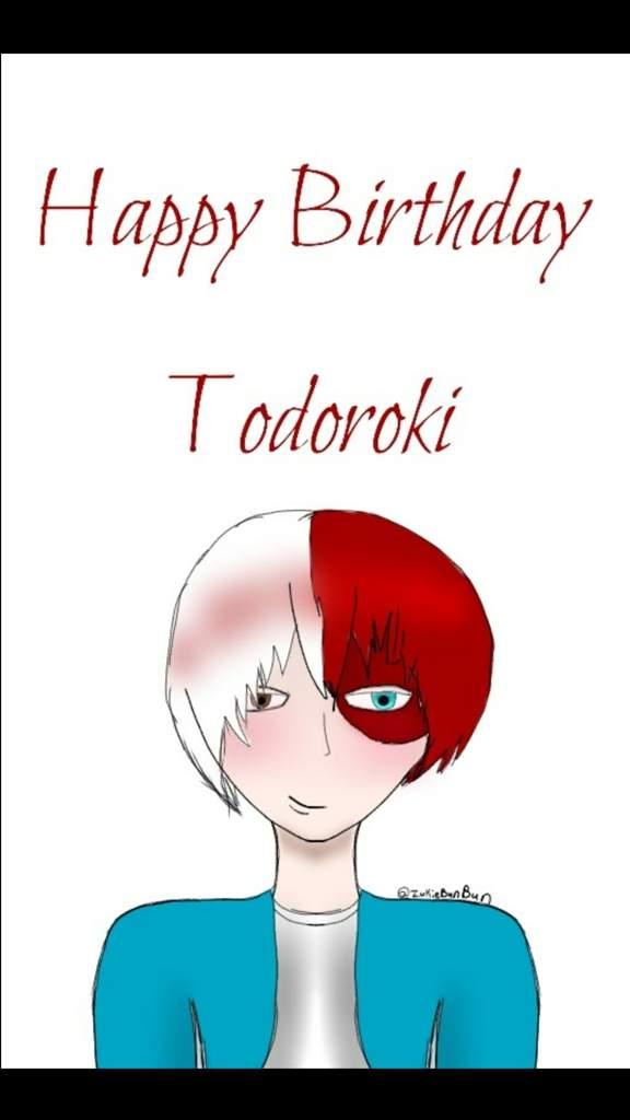 HAPPY BIRTHDAY TODOROKI! | My Hero Academia Amino