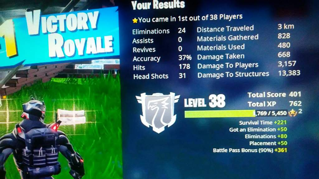 Got 24 kills in Team Rumble | Fortnite: Battle Royale Armory