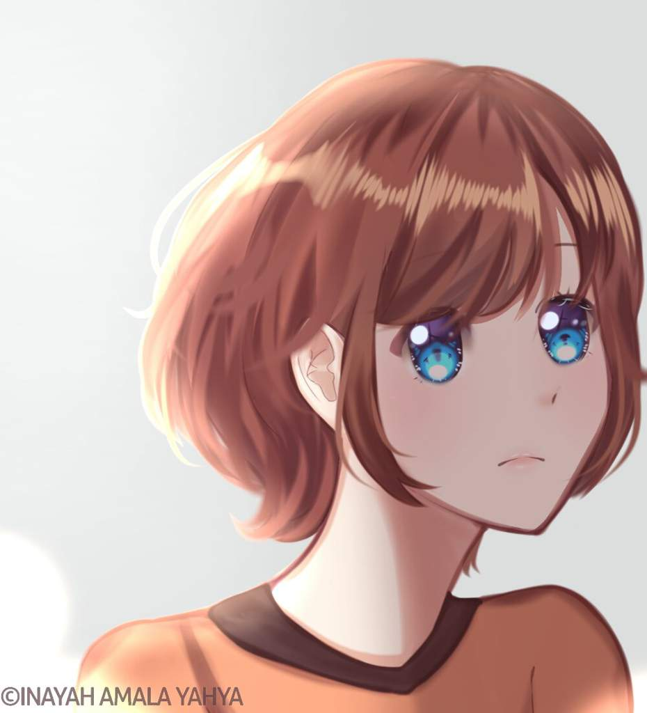 My Oc With Inconsistent Hairstyles Anime Art Amino