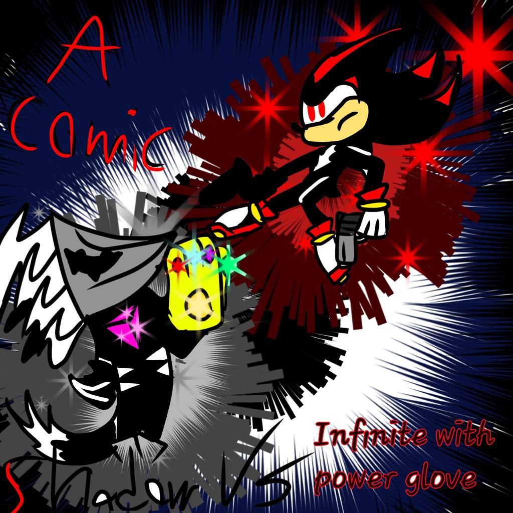 Shadow Vs Infinite With Infinity Gauntlet An Original Comic Sonic The Hedgehog Amino