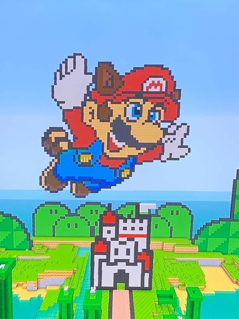 Super Mario Bros 3 Pixel Art Mario Amino