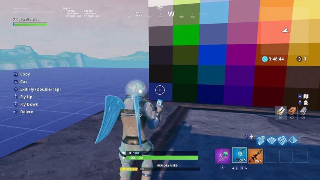 How To Make A Pixel Art In Creative Fortnite Battle