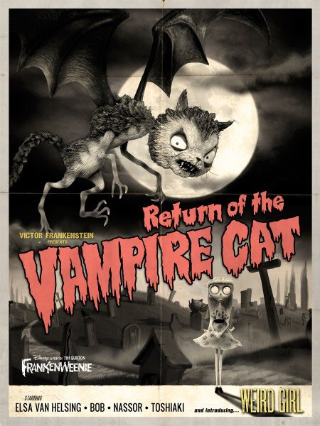 Classic Monster Movie Inspired Posters For Frankenweenie Monster Facts Amino