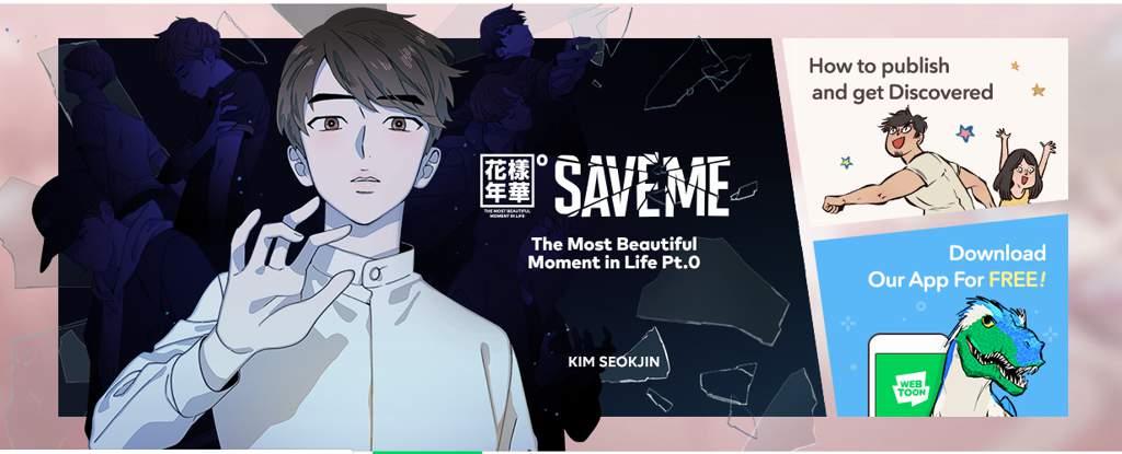 BTS 'Save Me' Webtoon | BTS Amino