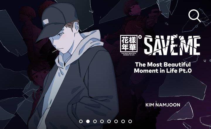 Save Me Bu Bts Universe Webtoon Park Jimin Amino
