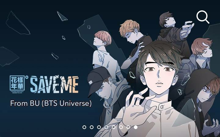 Download the app Webtoon, they have a BTS STORY called Save Me ...