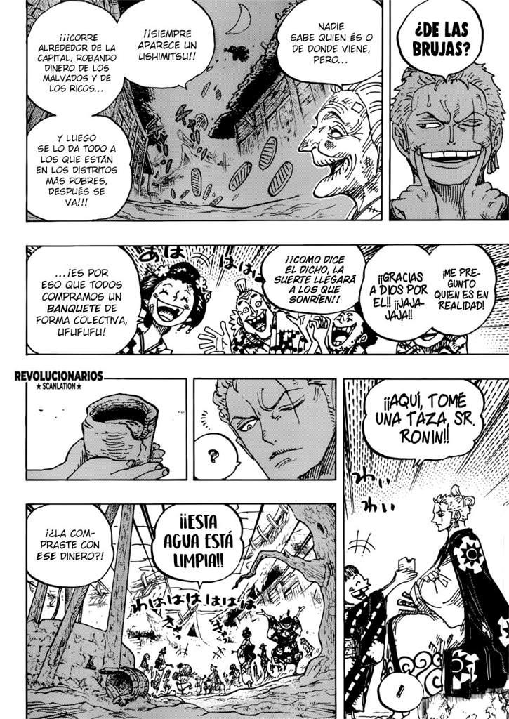 Manga One Piece    Capítulo 930   •One Piece• Amino
