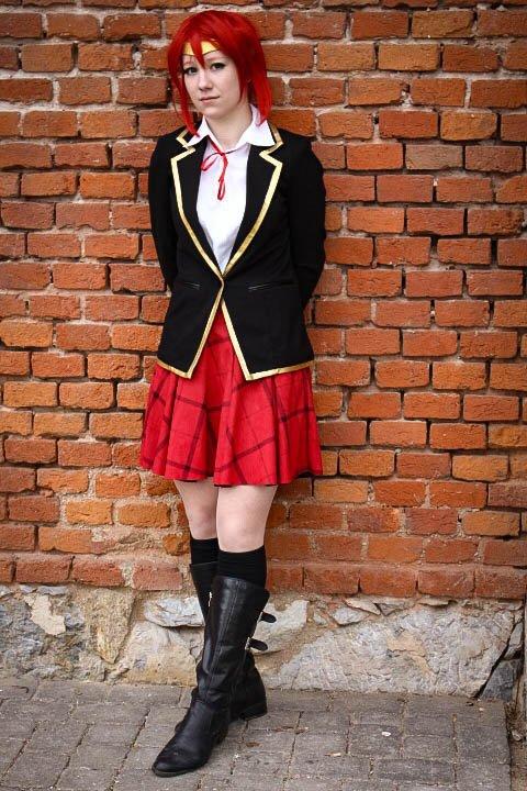 Pyrrha Nikos School Uniform Rwby Cosplay Amino