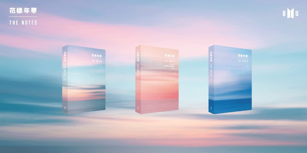 PRE-ORDER DETAILS FOR THE NOTES 1 | BTS Amino