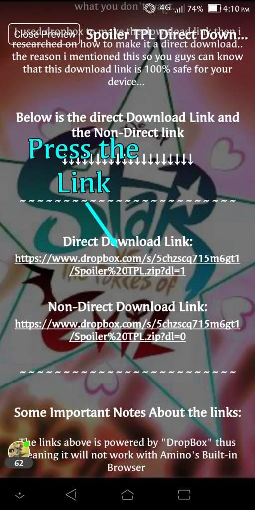 Spoiler TPL Direct Download | SVTFOE Amino