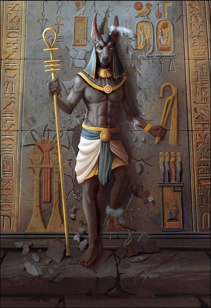 The Egyptian God: Anubis | Wiki | Mythology & Cultures Amino