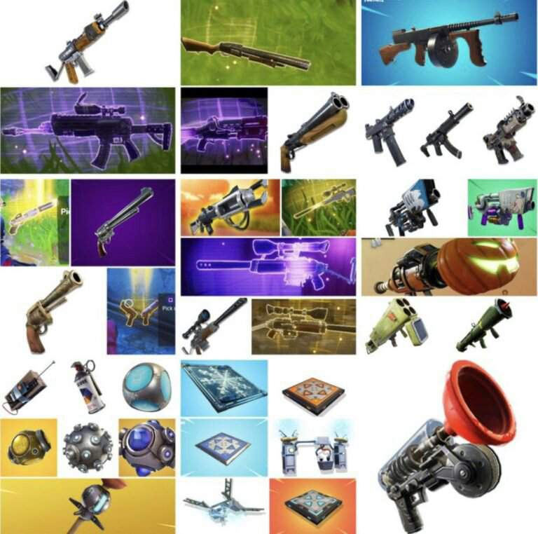All vaulted things | Fortnite: Battle Royale Armory Amino