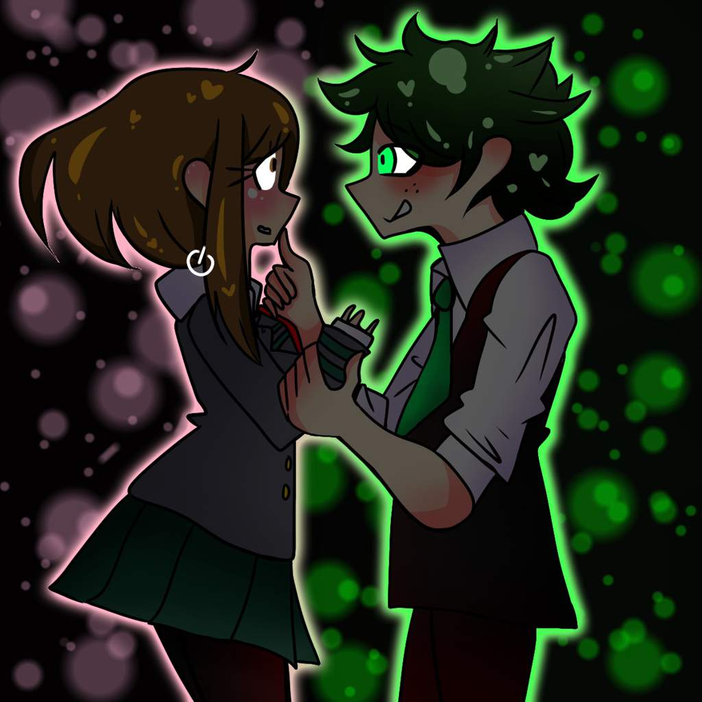Hero Uraraka X Villain Deku My Hero Academia Amino