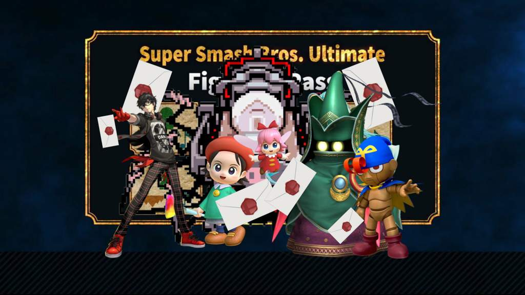 The Five DLC fighters(not leaked but the ones i want) | Smash