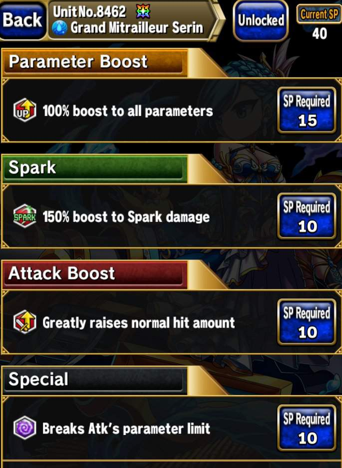Serin sp build | Brave Frontier/BF 2 Amino