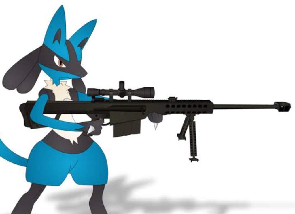 Just practicing how to shoot a gun | Pokémon Amino