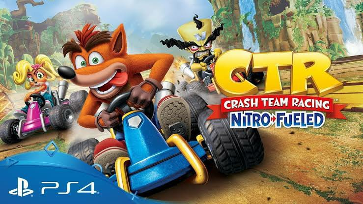 CTR Nitro Fueled tendrá skins retro en PlayStation 4