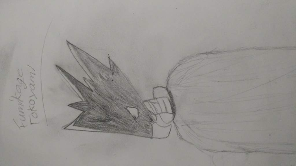 Trashy Fumikage Tokoyami Drawing My Hero Academia Amino