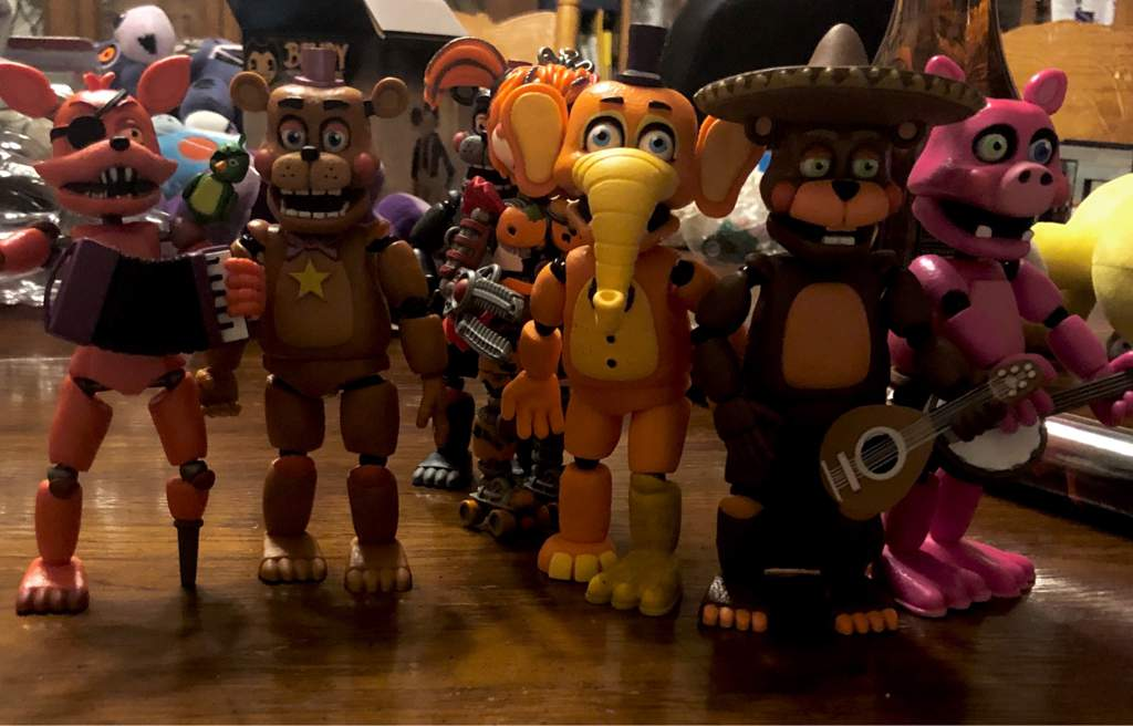 I Got All The Fnaf 6 Action Figures So I Made This | Five