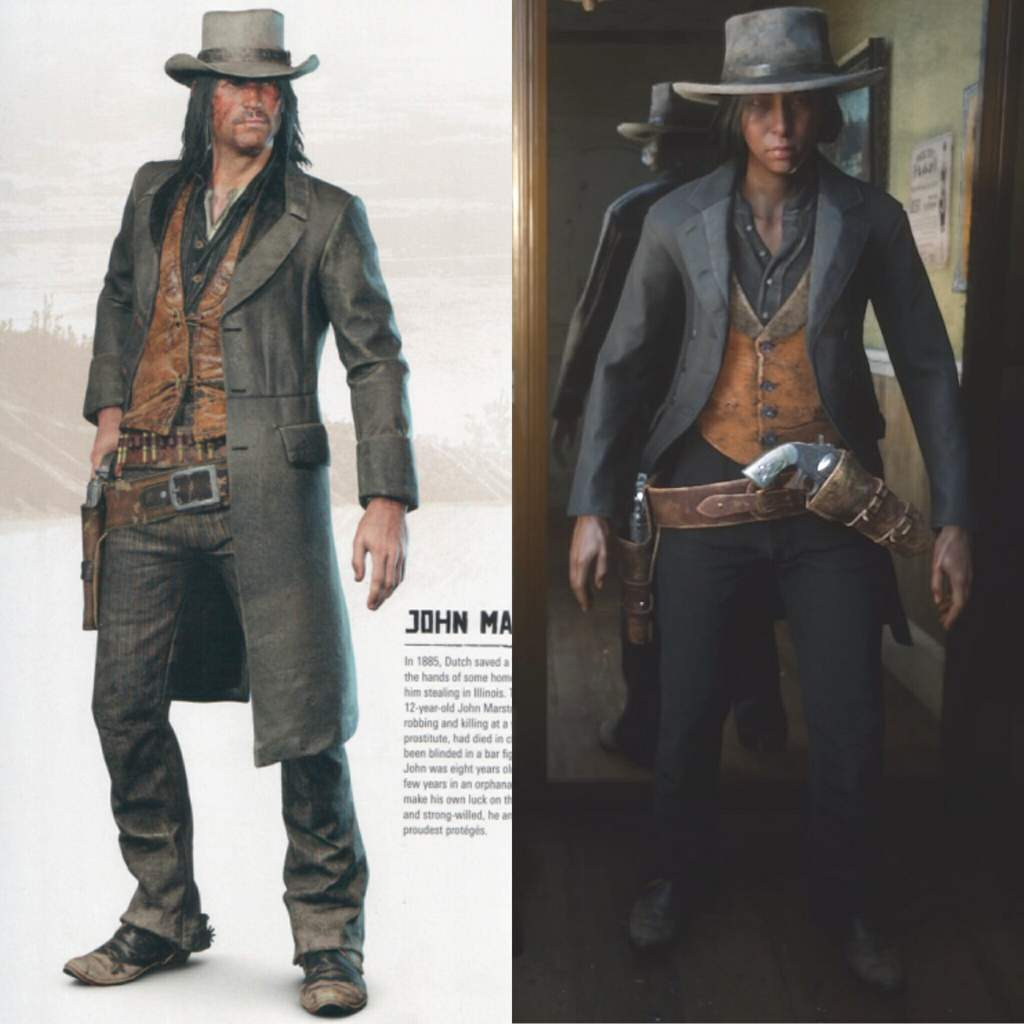 Van Der Linde Gang Outfits The Red Dead Redemption Amino