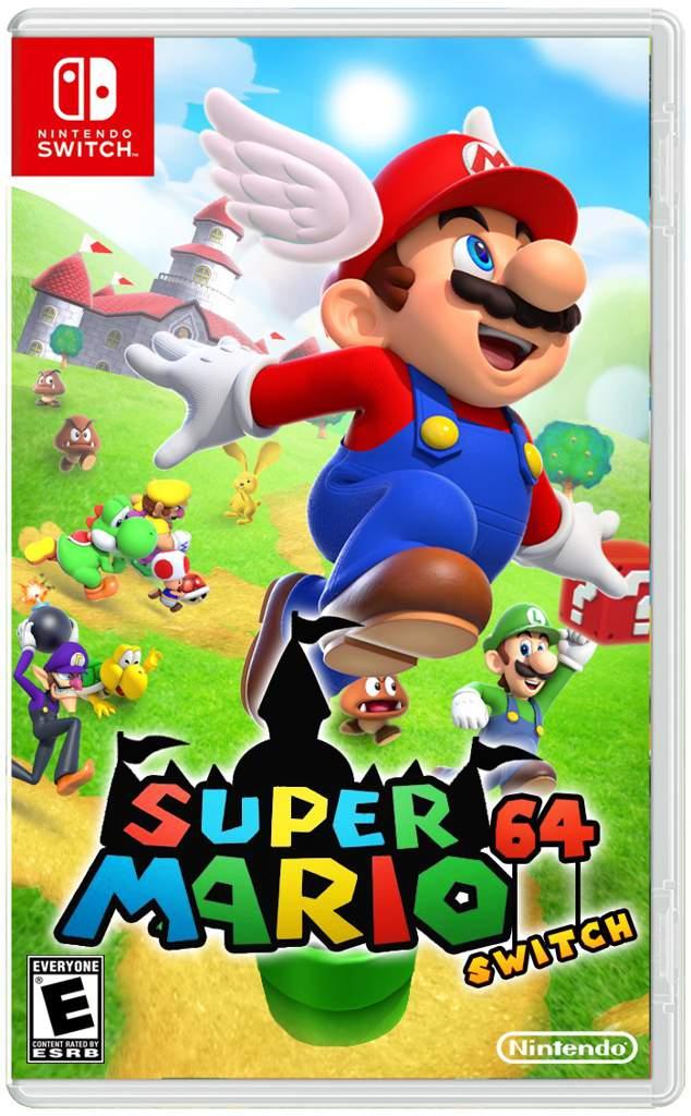 Super Mario 64 For The Switch Mario Amino
