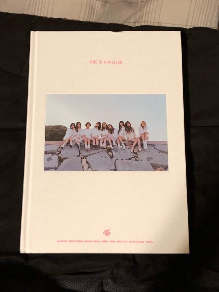 Twice 1st Photobook One In A Million Unboxing Twice 트와이스