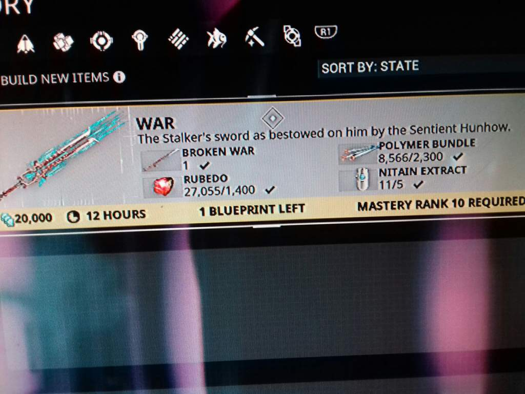 I Just Got The War Blueprint Warframe Amino