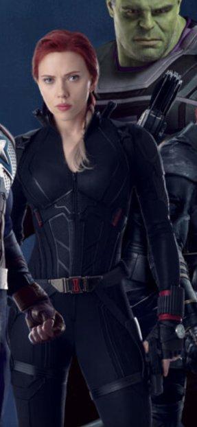 Avengers Endgame Black Widow Costume Play Soon Two