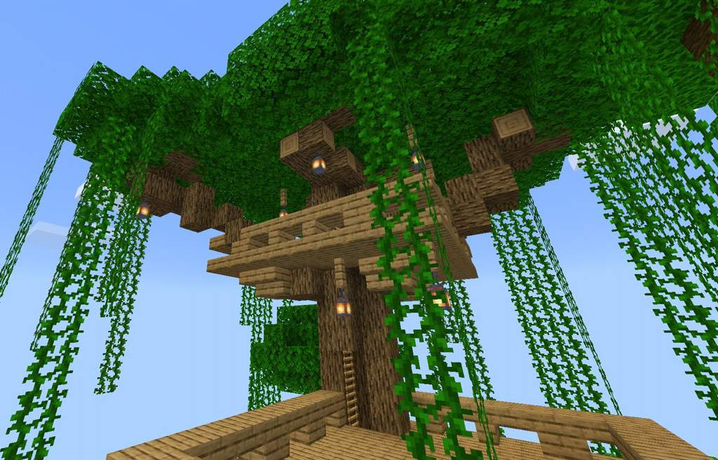 The Treehouse Hideout Minecraft Amino