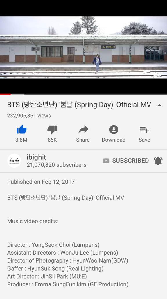 Happy 2nd Anniversary to spring day 💜 | ARMY's Amino