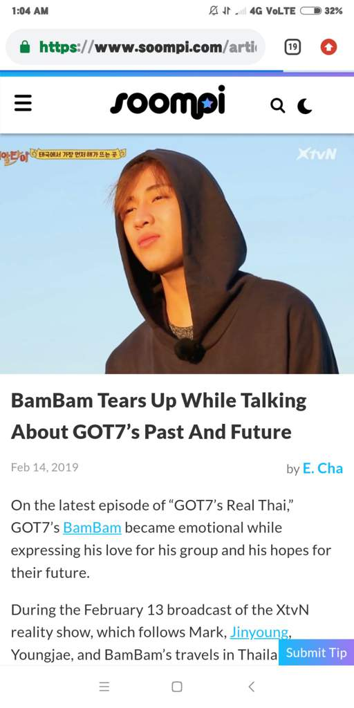 Got7S Bambam Talking | Fermons Les Abattoirs Mtl