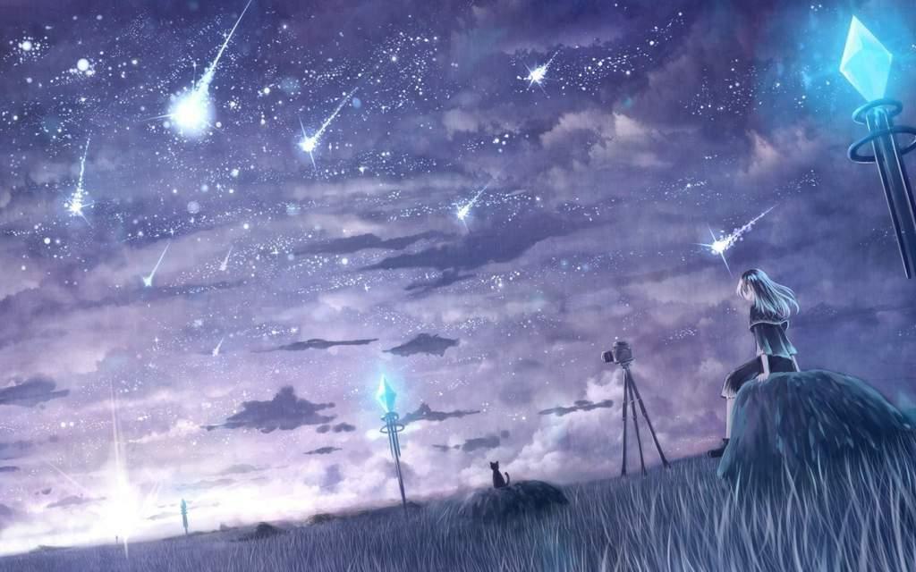 ждет душа полна падающих звезд картинки все друг