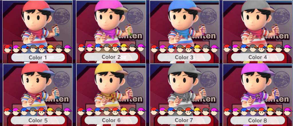 """Ninten Joins Your Party"""" - A character conept for an EarthBound"""
