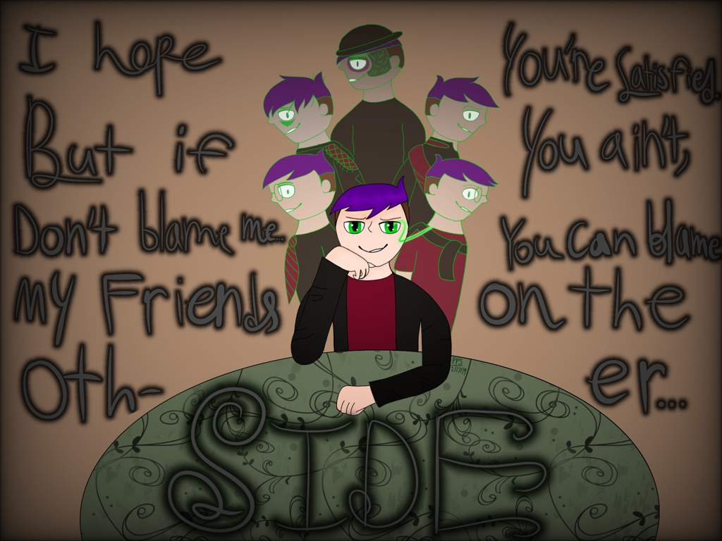 """I Got Friends on the Other Side"""" 