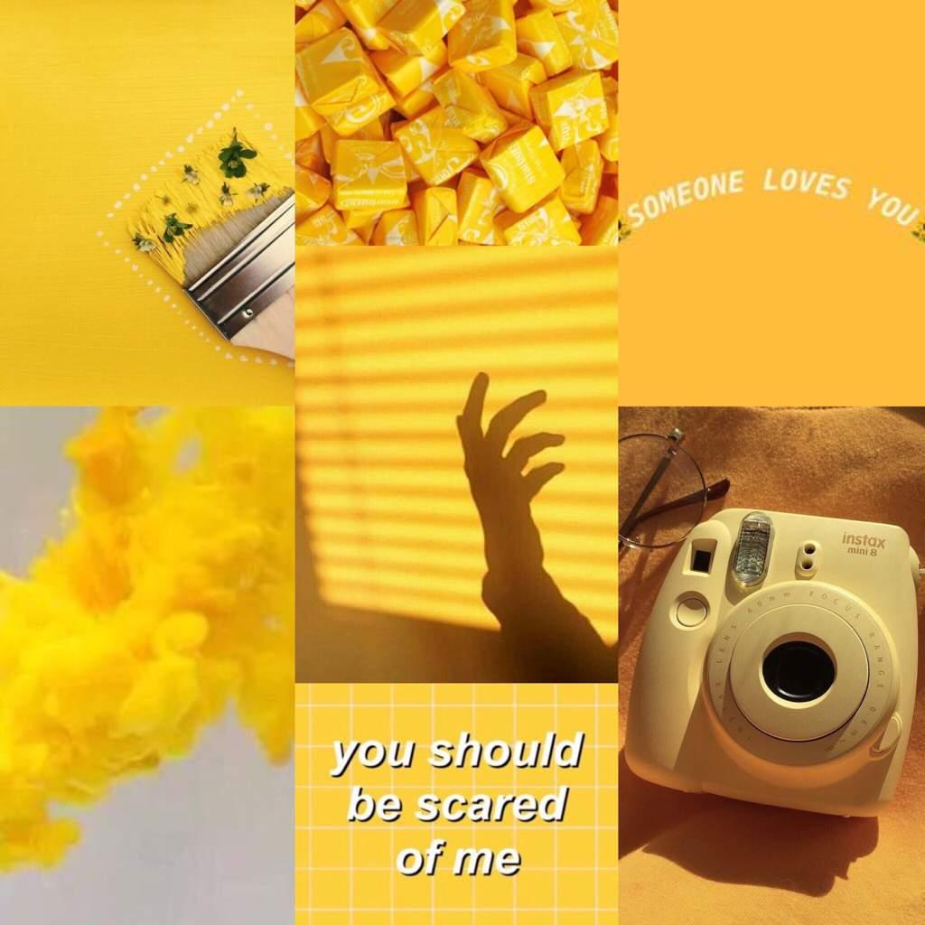 Yellow Aesthetic Aesthetics Amino