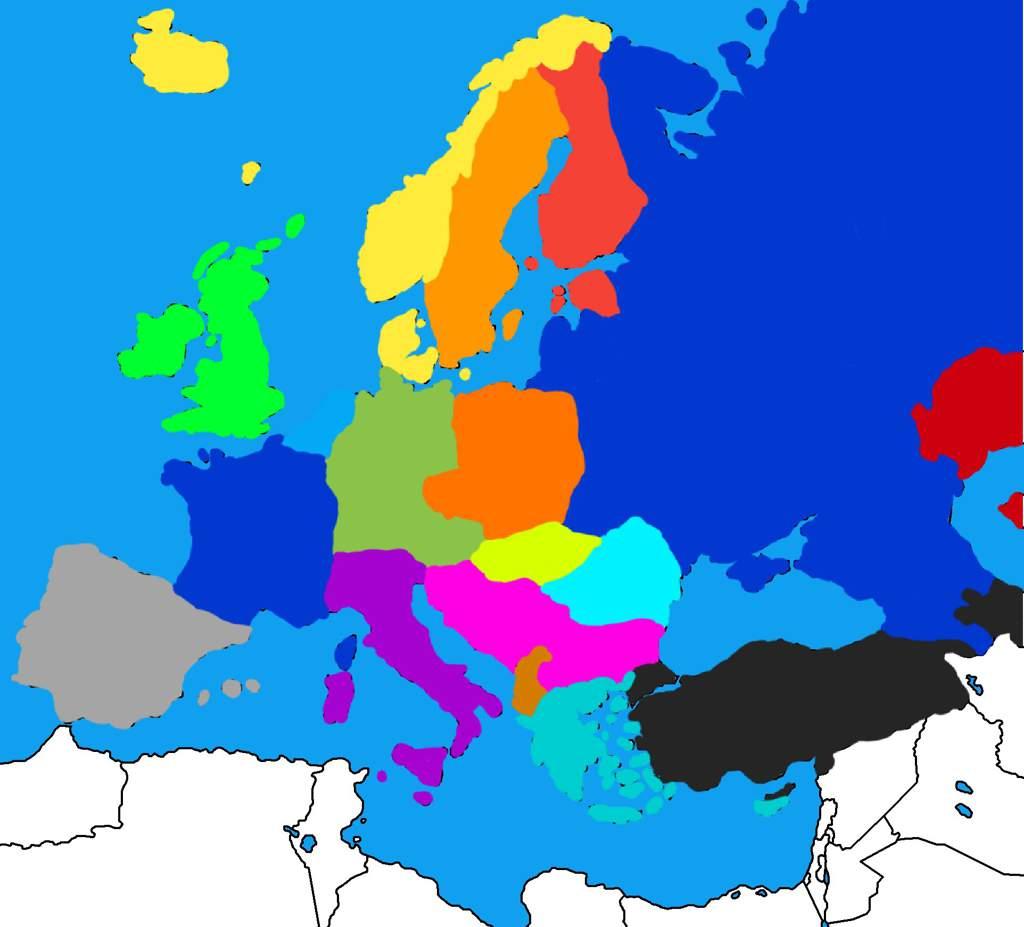 Communist Europe Mapping Countryballs Amino