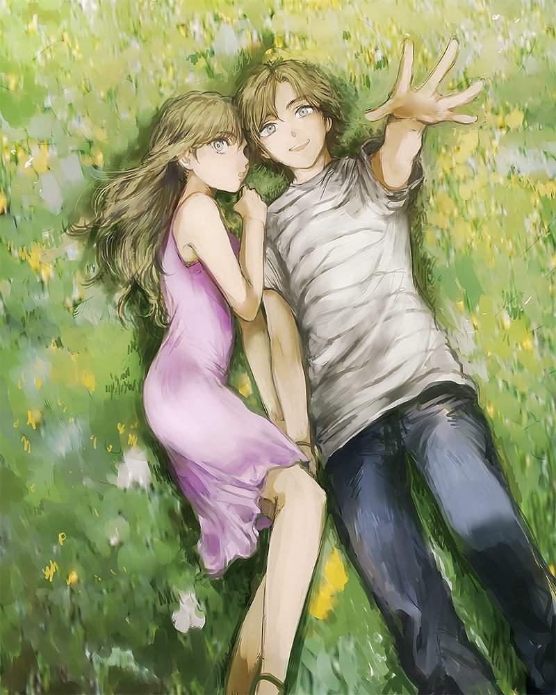 Картинки о прекрасной любви аниме